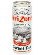 A large can of Arizona Southern Style Sweet Tea