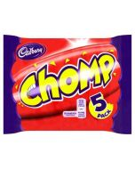 Cadbury Chomps in a multipack of 5 chocolate bars