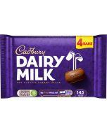 Deliciously creamy Cadbury Dairy Milk milk chocolate, made with fresh milk from the British Isles