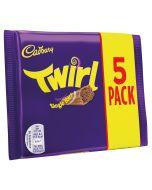 Twirly milk chocolate fingers covered in smooth Cadbury milk chocolate