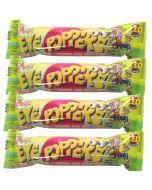 4 packets of mega sour bubblegum balls, super sour sweets!