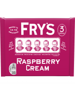 Frys rich dark chocolate bars with a raspberry fondant centre