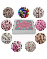 Our sweets and candy hamper box filled with 9 different pick and mix chocolate sweets