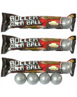 3 packets of cola flavour jawbreakers gobstopper sweets