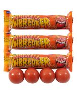 3 packets of fireball flavour jawbreakers gobstopper sweets, very hot flavoured sweets!