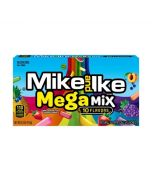 An American theatre box filled with fruit flavour Mike and Ike American sweets