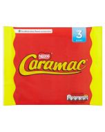 A multipack of 3 Nestle Caramac Bars