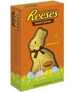 Reese's Peanut butter in the shape of an Easter bunny covered in creamy milk chocolate