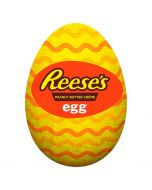 A milk chocolate Easter egg filled with Reese's peanut butter creme!
