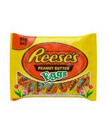 Reese's milk chocolate easter eggs filled with reeses creamy peanut butter
