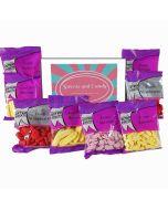 Retro Assorted Foam Sweets Hamper Box