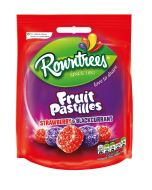 A 120g bag of the two best flavours on Fruit Pastilles, Strawberry and Blackcurrant!