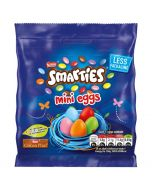 Brightly coloured Easter chocolate mini eggs!
