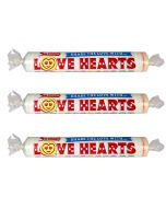 Swizzels fruit flavour hard candy sweets with a loving message on them
