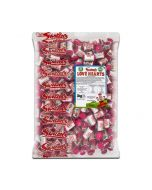 A bulk 3kg of Swizzels love hearts, perfect wedding favour sweets