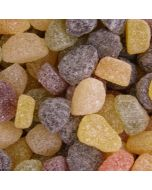 Taveners fruit pastilles, sugar coated gummy sweets with assorted fruit flavours
