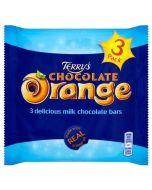 Terrys Chocolate Orange Bars in a multipack