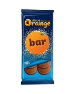 Terry's brilliant orange flavour chocolate in the form of a share size chocolate bar