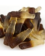 Juicy cola flavour jelly sweets in the shape of cola bottles