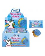 A full case of magical unicorn fizzy belts