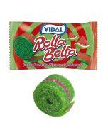 Vidal fizzy watermelon flavour rolled up sweet belts