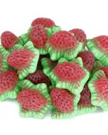 Vidal strawberry flavour jelly sweets with a soft gooey centre