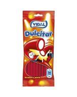 Vidal strawberry flavour liquorice pencils with a fondant centre