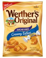 A sugar free version of Werthers Original creamy toffees, the perfect sugar free sweets
