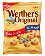 A sugar free version of Wethers original butter candy sweets