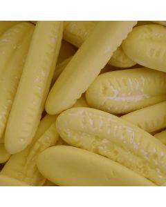 Barratts bulk 2kg bag of giant banana flavour foam sweets