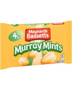 A pack of 4 rolls of Bassetts Murray Mints Sweets