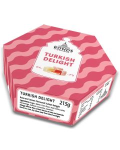 A gift box of Bonds Turkish Delight, a great Christmas gift!
