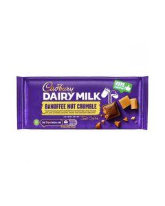 The new Cadbury Dairy Milk Banoffee Nut Crumble inventor bars!