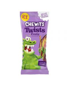 A 200g bag of chewits new fruity twists! Fun fruit flavour liquorice sticks