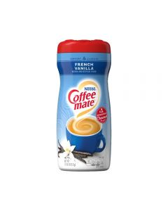 A jar of French Vanilla flavour coffee creamer imported from America