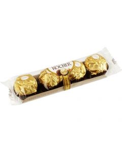 A pack of 4 Ferrero Rocher Chocolate Sweets