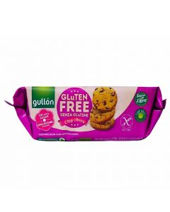 Gullon Gluten Free and No Added Sugar chocolate chip cookies