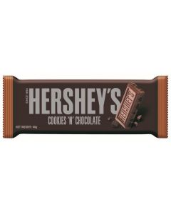 This American chocolate bar from Hershey's blends the perfect combination of original milk chocolate with crunchy cookie pieces mixed in.