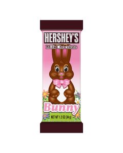 Hershey's Milk Chocolate bar in an Easter bunny shape