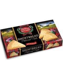A 250g box of Highland Speciality Shortbread Petticoat Tails.
