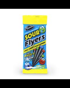 Sour Liquorice Flyers 75g