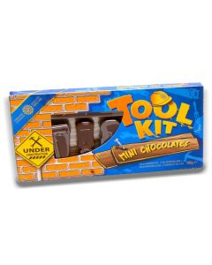 A box of milk chocolates in the shape of tools! A perfect Christmas gift!