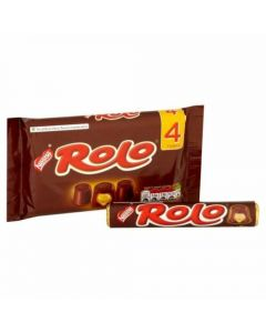 A multipack of Nestle Rolos made from caramel and milk chocolate