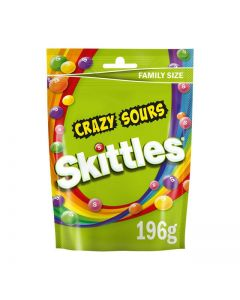 Chewy Candy sweets in a Crisp Sugar Shell with Sour Fruit Flavours.