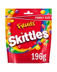 Chewy Candy sweets in a Crisp Sugar Shell with Fruit Flavours.