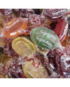 A 150g bag of fruit flavour boiled sweets, Swizzels crystal fruits are traditional boiled sweets