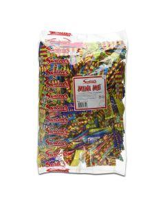 Swizzels Mini Me Chews, miniature versions of Swizzels most popular chew bars in a bulk 3kg bag