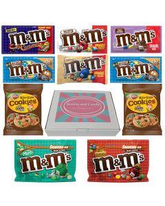 American M&M Hamper Box