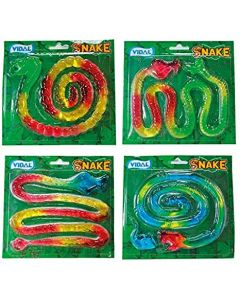 Giant fruit flavour jelly snake