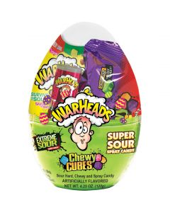 Warheads American sour candy Easter Egg